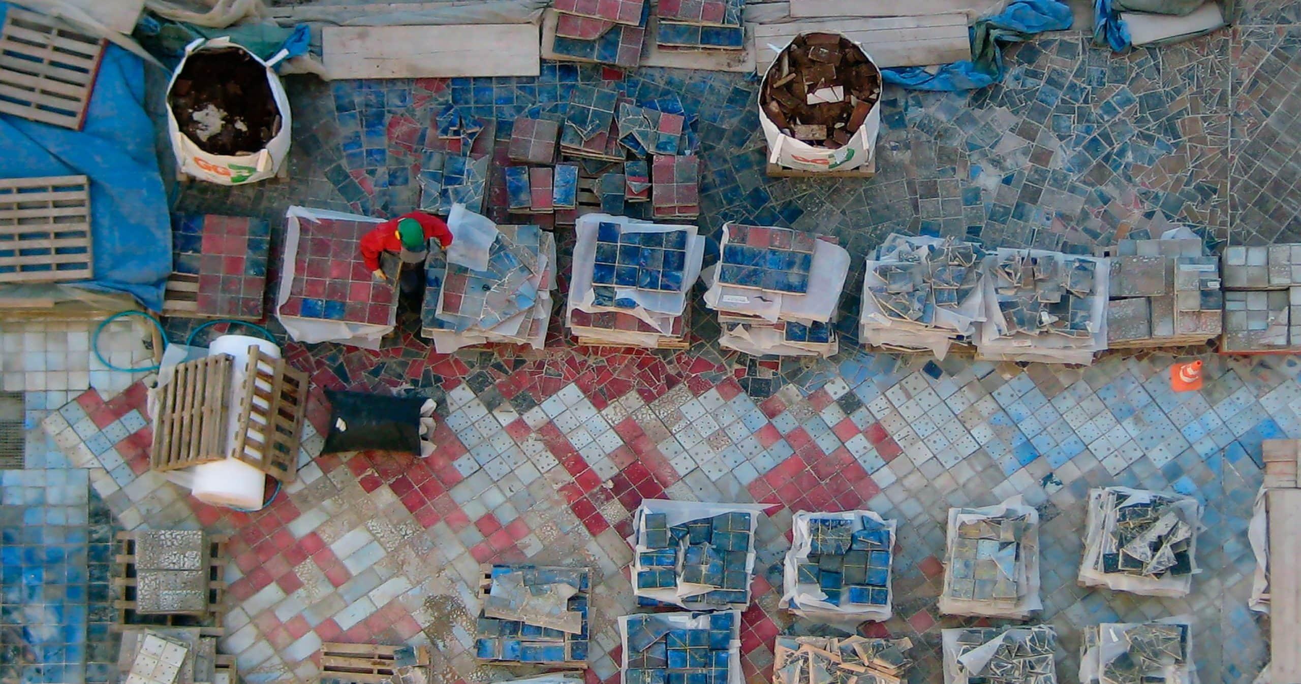 restauración y rehabilitación de edificios Terraza Artística