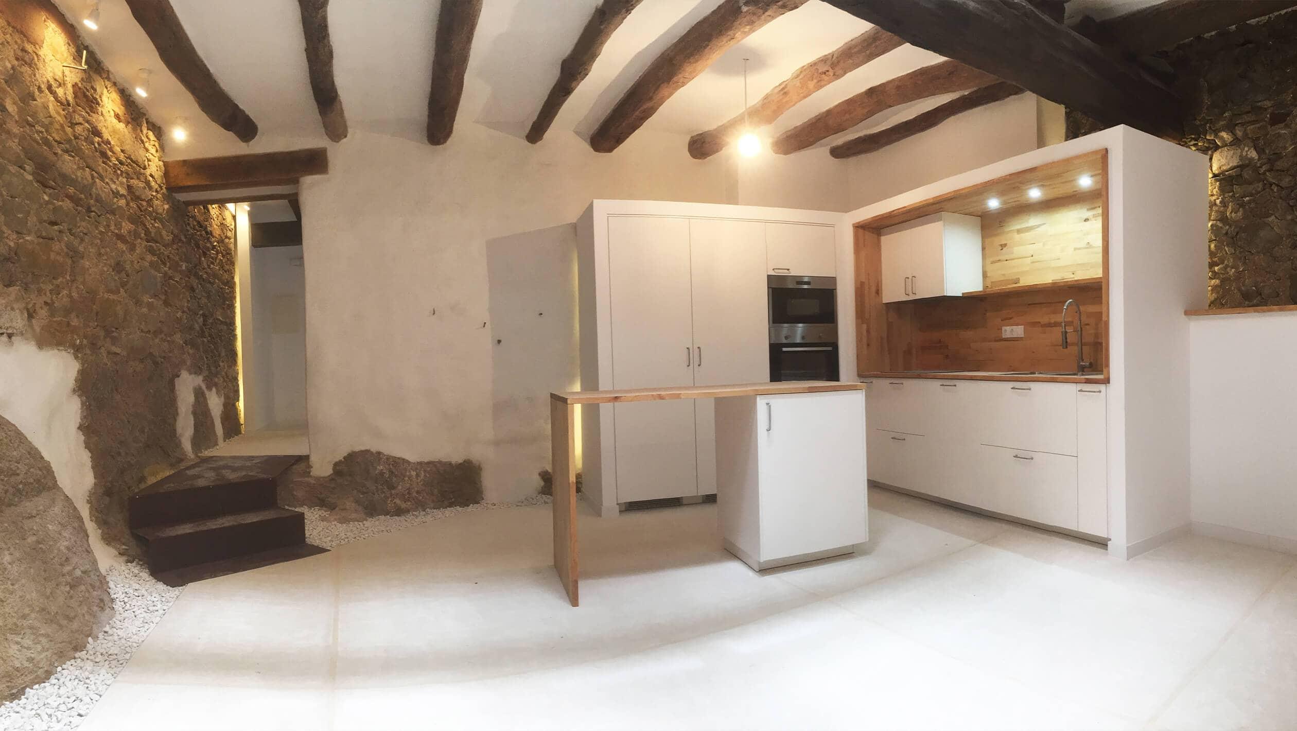Reforma de vivienda del siglo XVIII | 2345 Arquitectes Barcelona