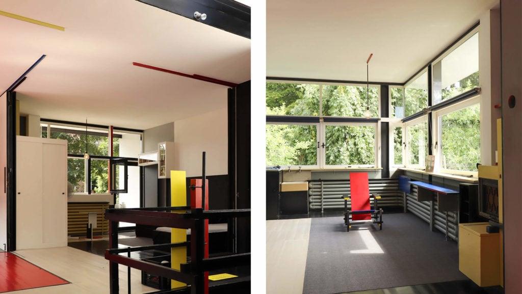 Interior casa Rietveld-Schoeder | 2345 Arquitectos